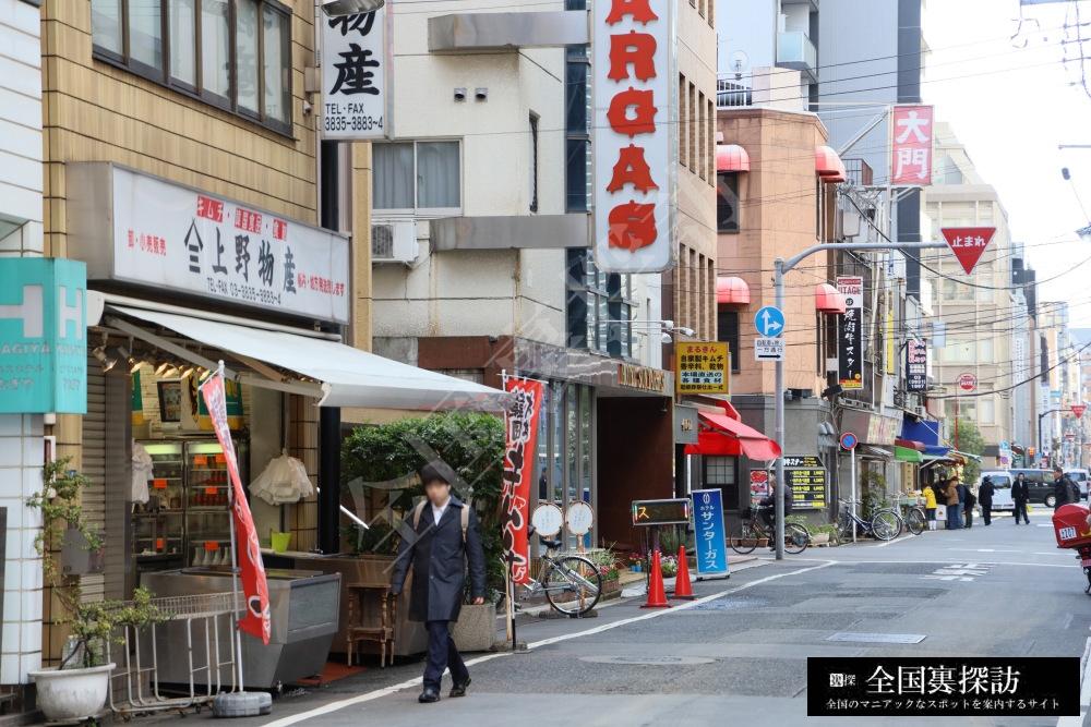 コリアン タウン 上野